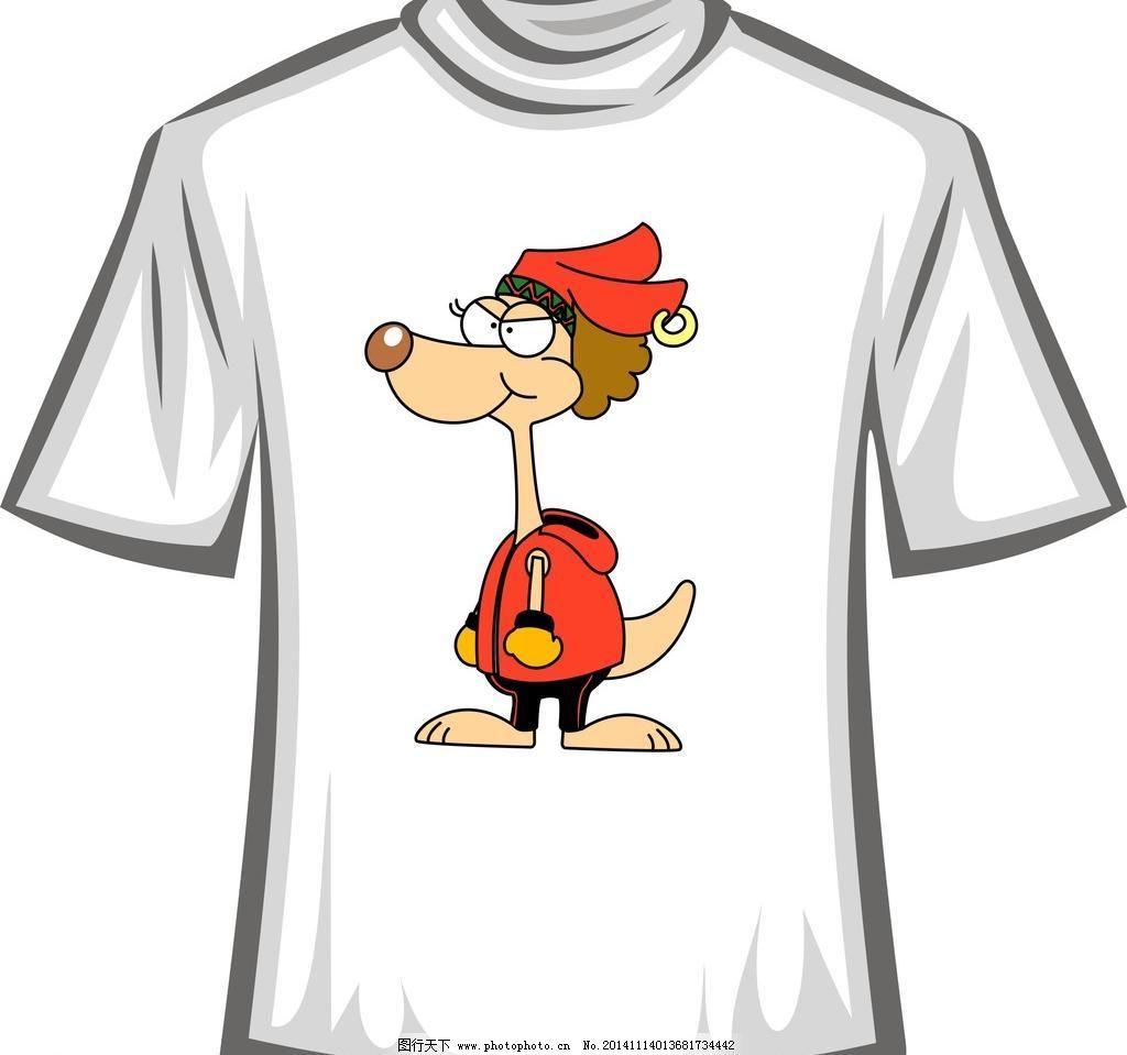 儿童卡通t恤 t恤衫 时尚休闲 潮流元素 潮流卡通 t恤图案图形 t恤图案