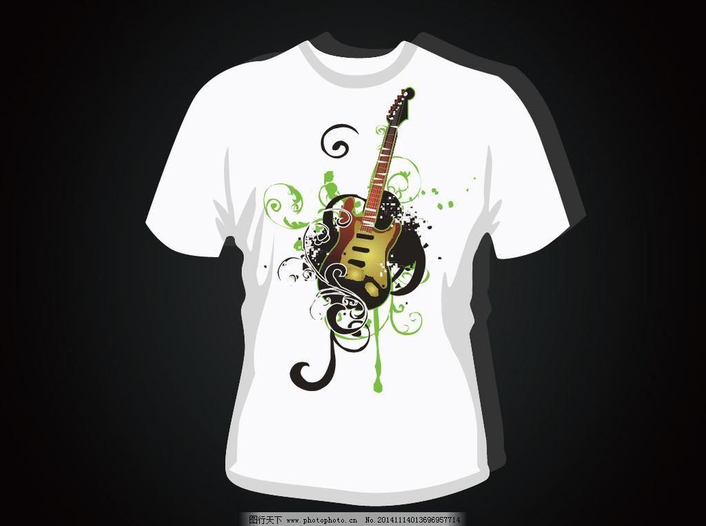 短袖t恤 t恤衫 t恤花纹 图案 时尚 手绘插画 休闲t恤 潮流元素 创意
