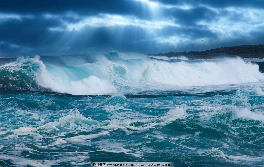 风景 风光 旅游 唯美 清新 意境 秦皇岛 大海 海边 海浪 乌云 汹涌