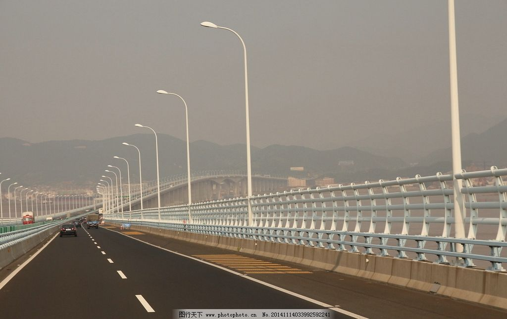 杭州湾 跨海大桥 桥 高速 杭州 宁波 舟山 风景 摄影 旅游摄影 国内