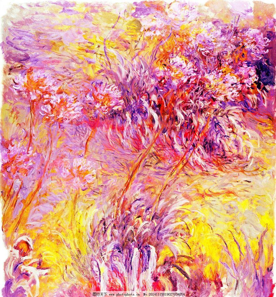 花卉 油画 装饰画 壁画 插画 花 油画专辑 设计 文化艺术 绘画书法 30