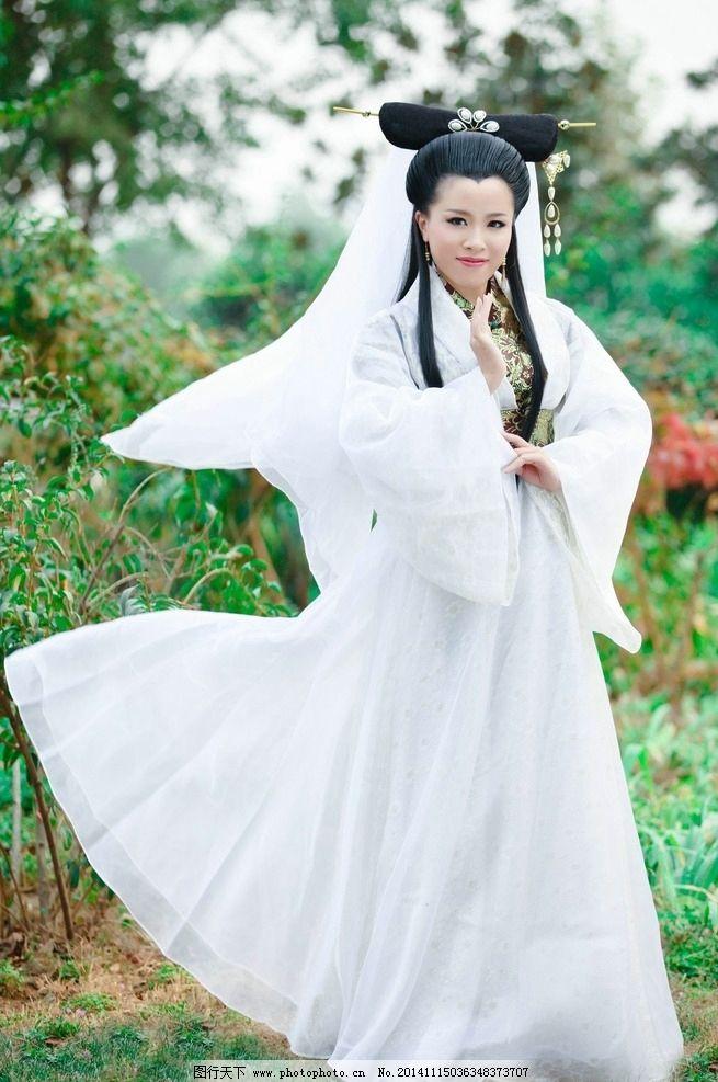 古装美女白素贞图片