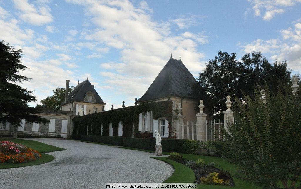 法国 城堡 波尔多 风景 旅游 法国城堡 摄影 旅游摄影 国外旅游