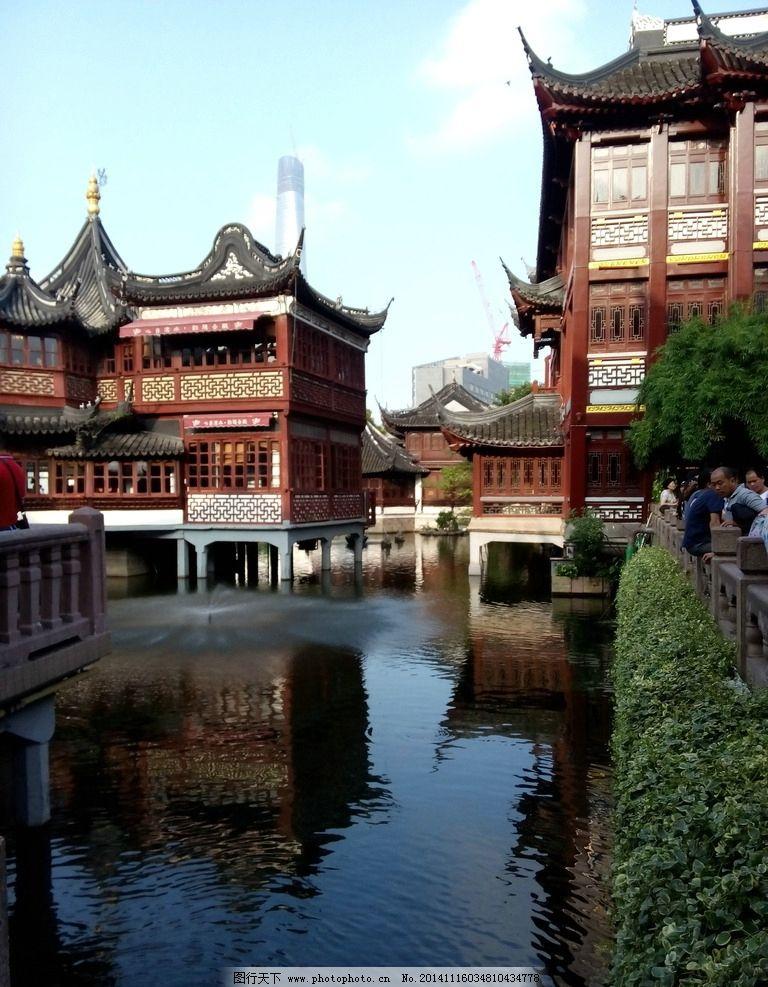 水上阁楼 风光 建筑 旅游 风景 古建 摄影