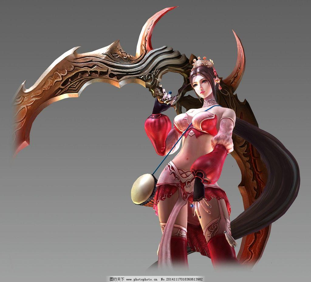 游戏 游戏原画 原画 游戏人物 免抠素材 玄幻 武侠 古龙 美女 设计