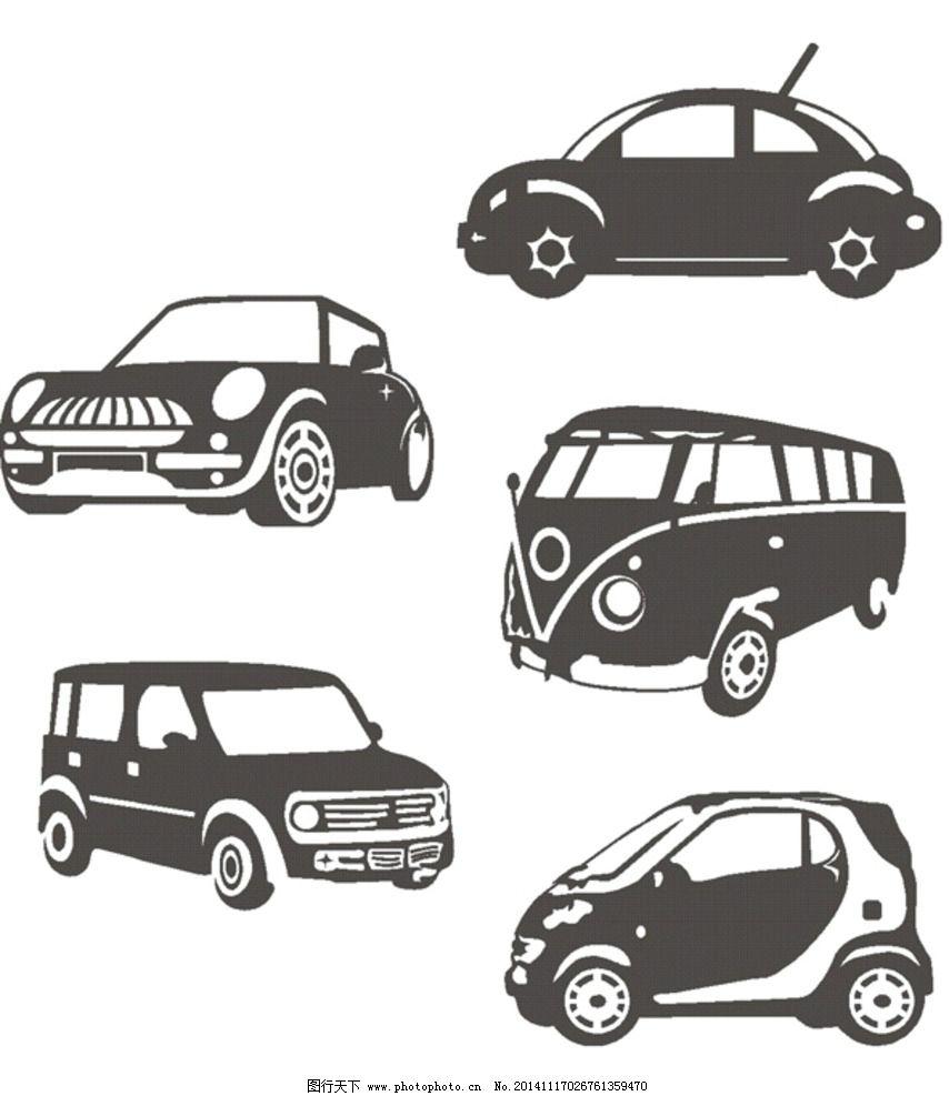各种车 小轿车 汽车 卡通车 矢量图 其他 设计 现代科技 交通工具 cdr
