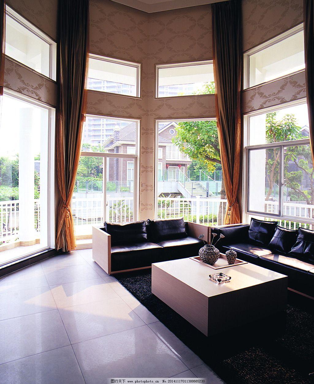 客厅大堂室内布景3d效果图