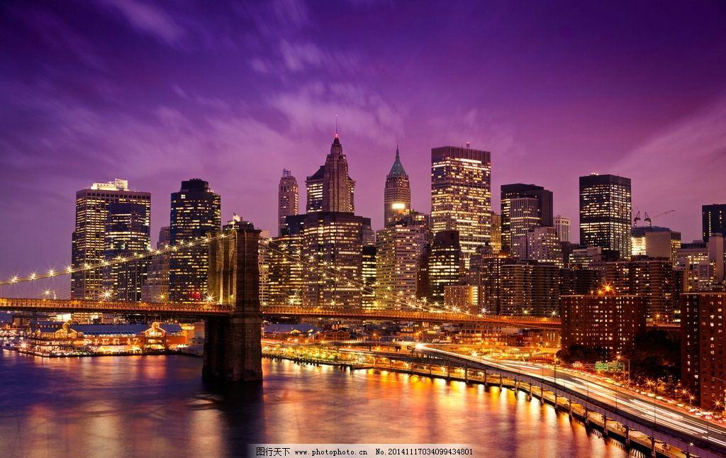 纽约自由塔灯光