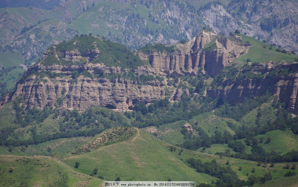 新疆 伊犁 峡谷风光 大西沟 佛教 风景 摄影 自然景观 自然风景 350