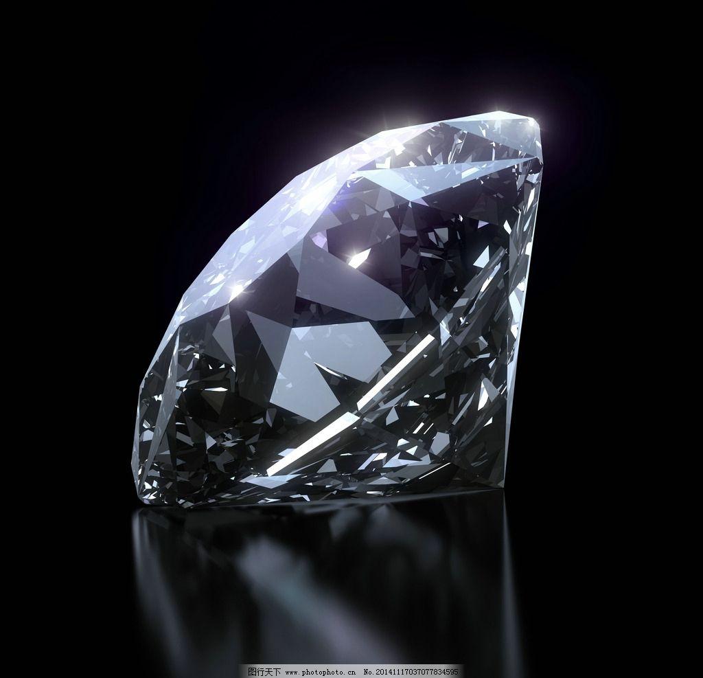 钻石 晶莹剔透 宝石 首饰 珠宝 手绘钻石 耀眼 光芒 珠宝首饰 生活