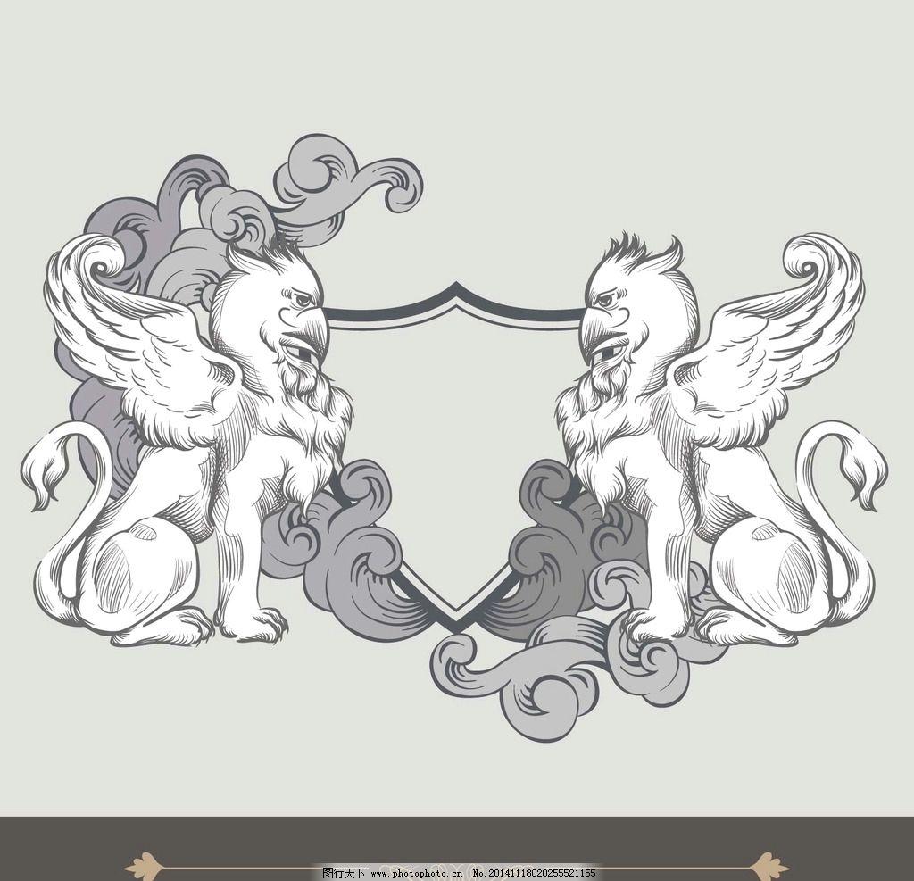 骆驼简单小边框 可爱简笔画彩