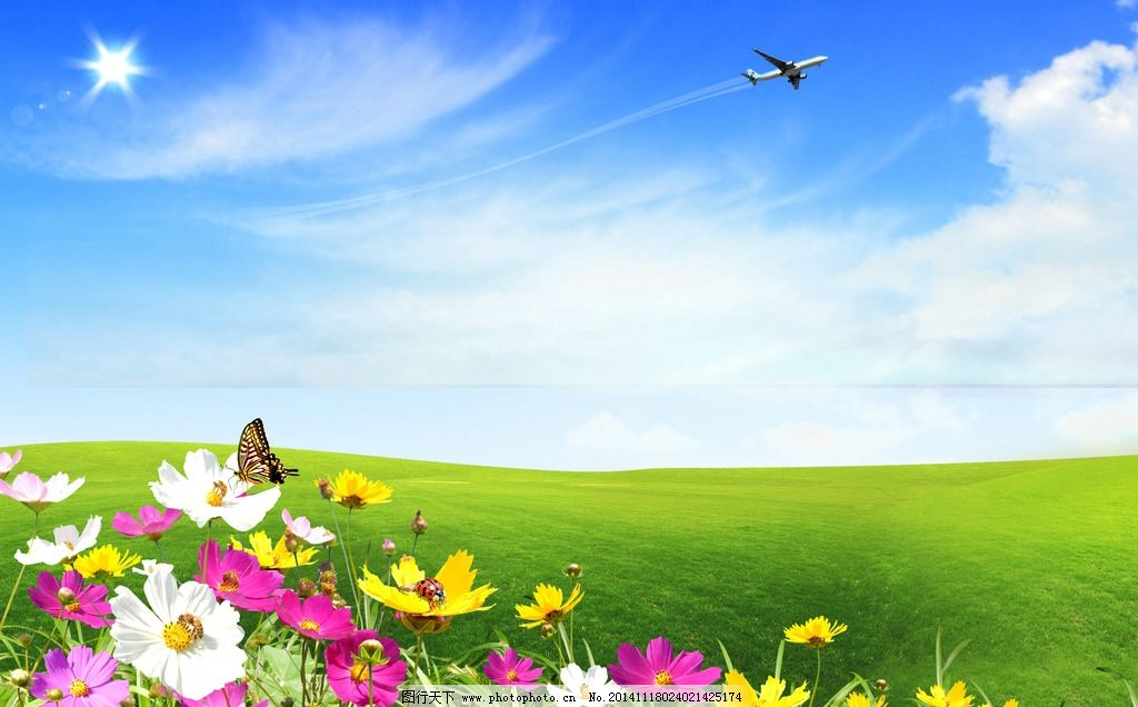 大全图片】 太平洋电脑  花草壁纸高清风景图片-漂亮山水花草风景图片