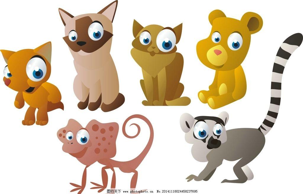 卡通动物物图片