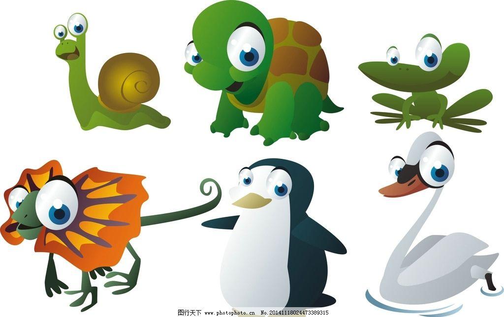 蜗牛的形态手绘创意