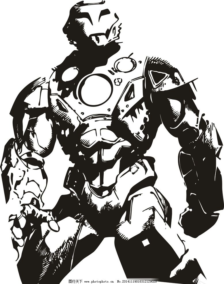 机器人 动漫 机器翻译 战斗 战车 设计 动漫动画 动漫人物 cdr