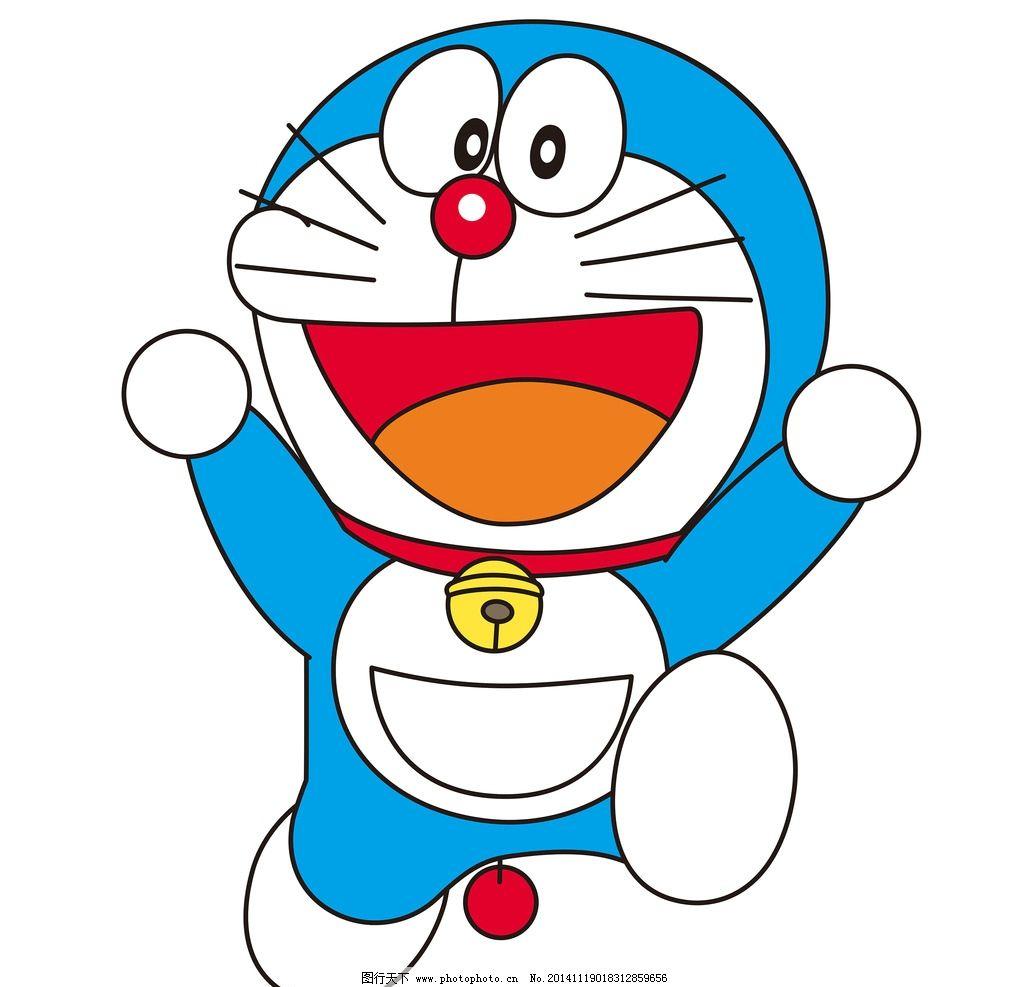 哆啦a梦 小叮当 机器猫 动漫 卡通 大雄 猫 蓝色猫 卡通人物psd 设计
