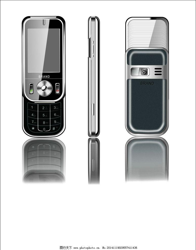 手机三视图图片