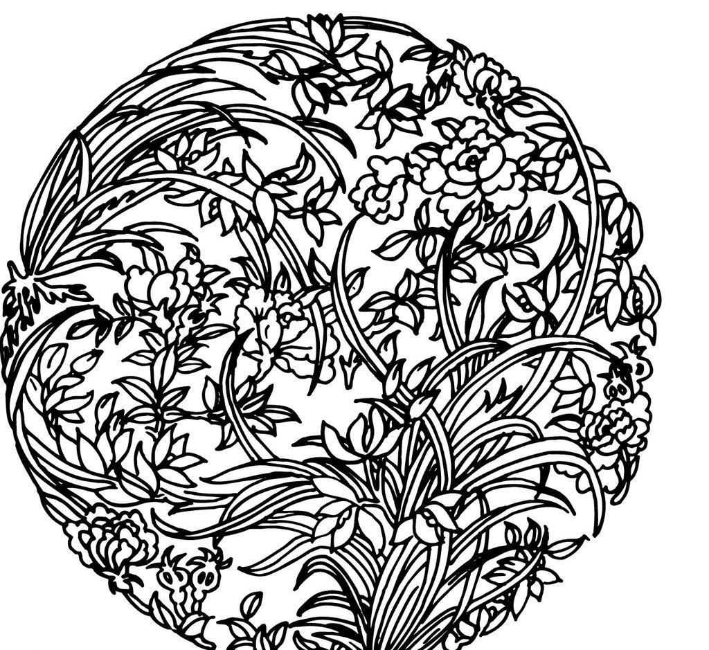 彩绘图腾 中国图腾 图案素材 设计 底纹边框 其他素材 ai 矢量图 花纹