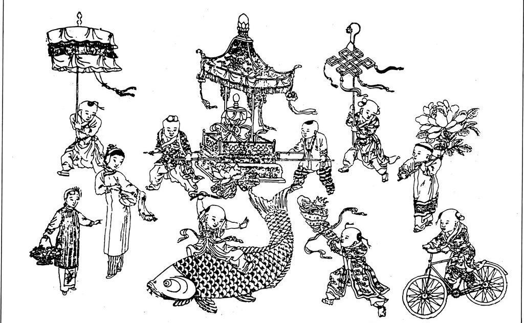古代人物 宫廷人物 儿