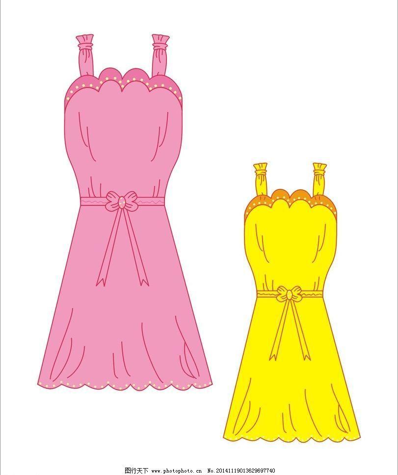 裙子免费下载 cdr 服装 服装设计 广告设计 红裙子 裙子 衣服 裙子 裙