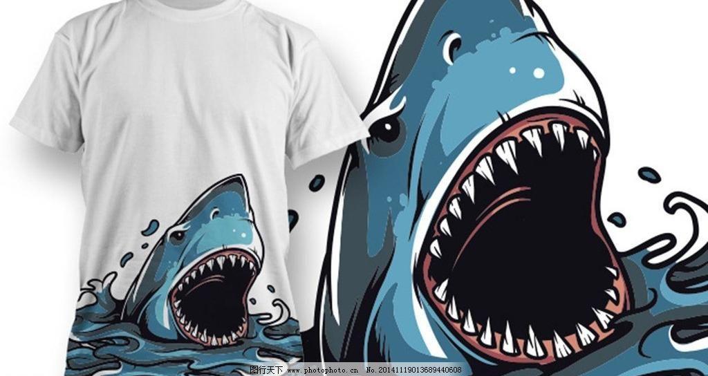 鲨鱼背包情侣头像