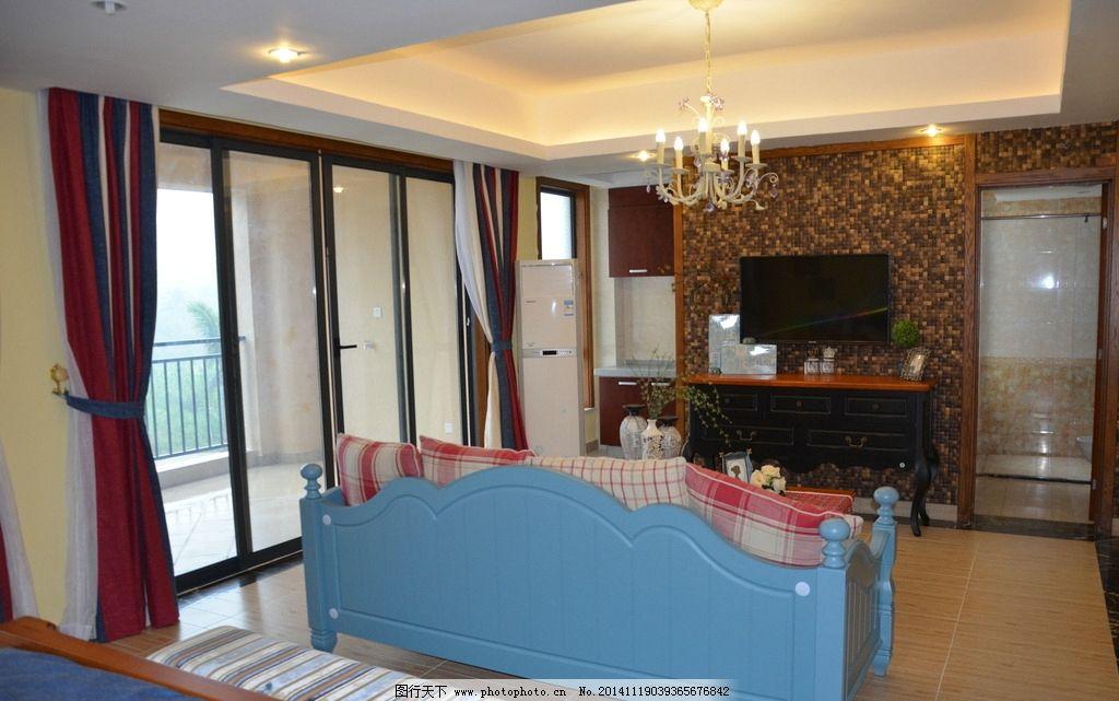 客厅 沙发 吊灯 冰箱 室内装修 室内装潢 家具 家居 室内摄影
