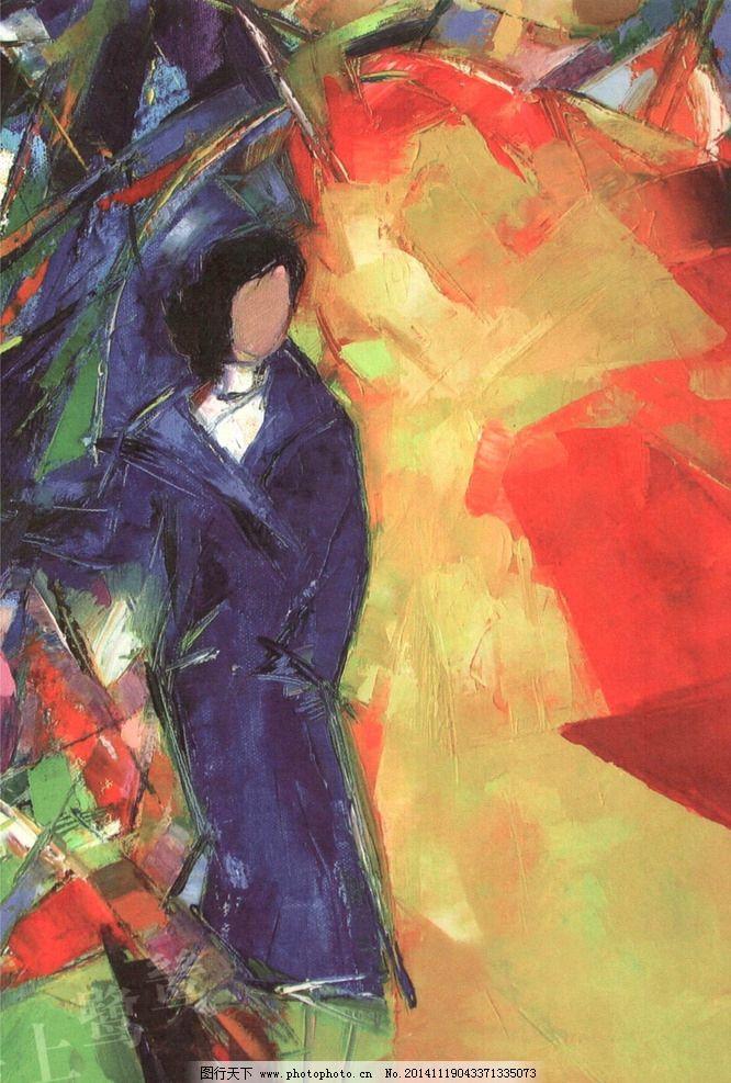 人物装饰画 海上鹭鸶 油画 壁画 墙画 手绘 热销款图 文化艺术