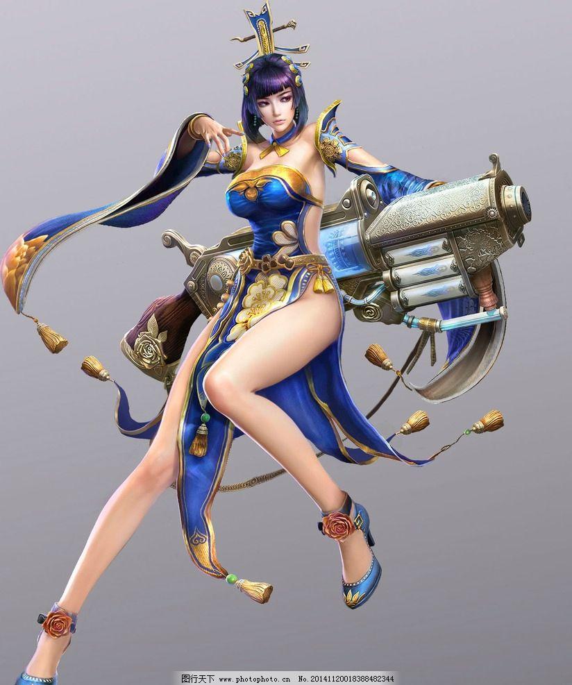 游戏 游戏原画 原画 游戏人物 武侠 玄幻 动漫人物 武将 美女 设计