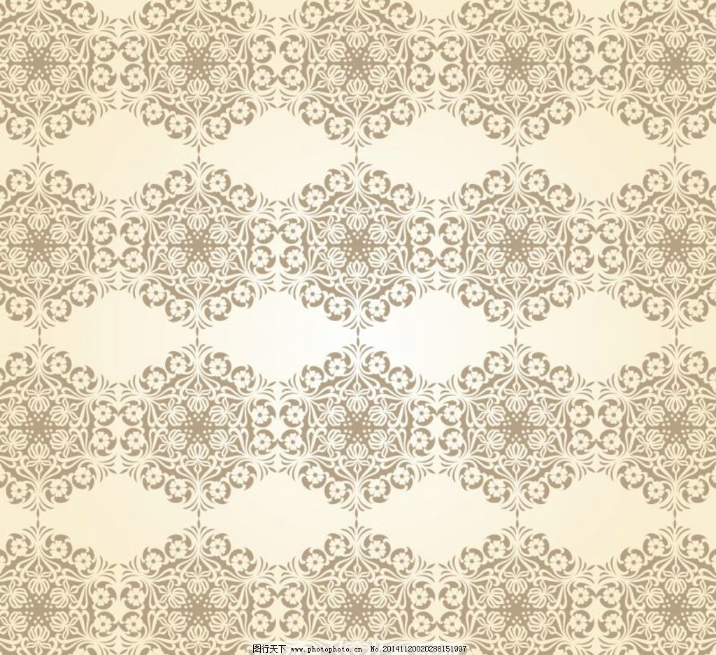 传统花纹素材 花边花纹 古典花纹 欧式底纹 中国风底纹 矢量底纹 cdr