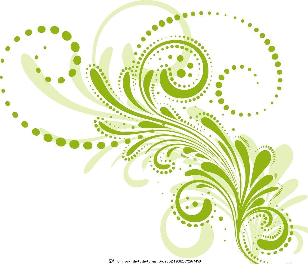 藤蔓 花纹 花边 感性 底纹边框 花边花纹