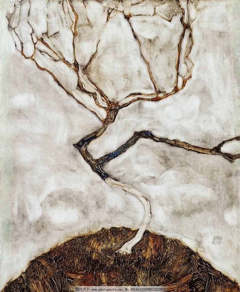席勒 装饰画 油画 壁画 墙画 手绘 大师系列 设计 文化艺术 传统文化
