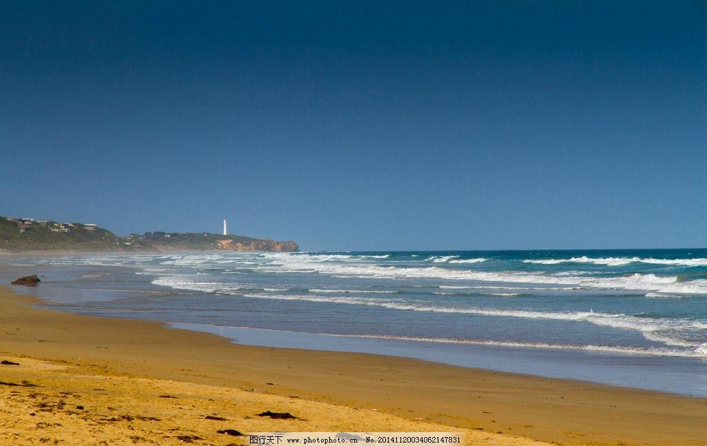 国家自然公园 墨尔本西部 风景奇美 明媚风光 沙滩 大海 奇景