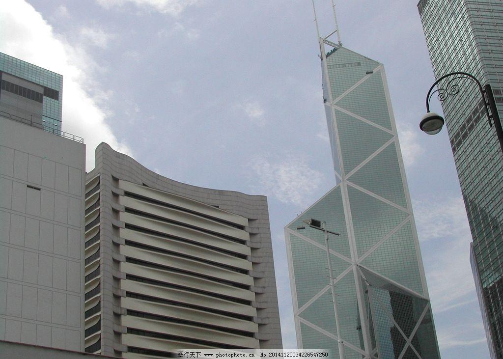 香港中银大厦 城市 建筑 旅游 摄影 高楼 天际线 人文景观
