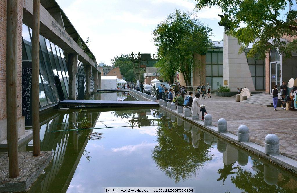 画廊 北京艺术区 艺术馆 当代艺术 艺术展 红砖墙 摄影 摄影图片