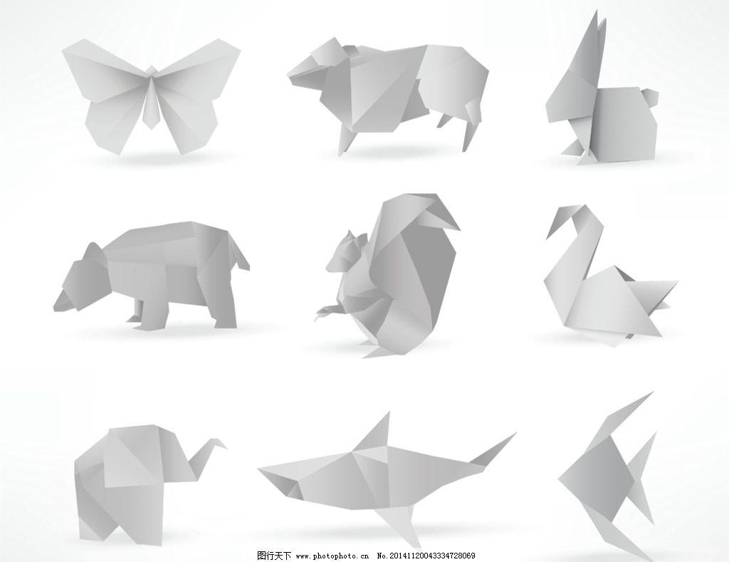 纸鲨鱼的折法图解
