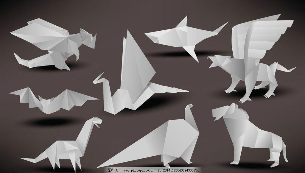 纸鲨鱼怎么叠 图解