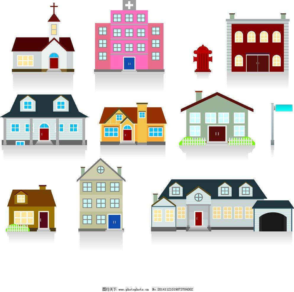 地图 手绘 房子图片