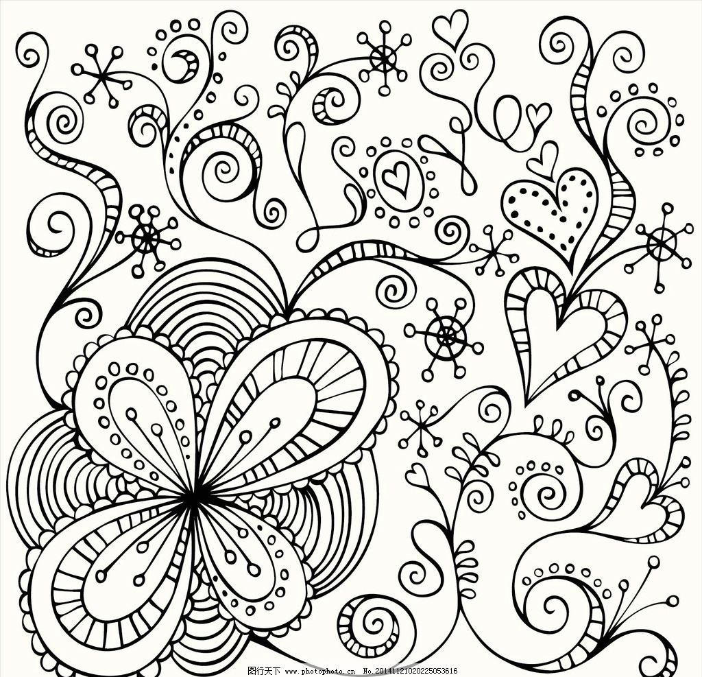 特性可爱花纹底纹 欧式花纹 欧式古典背景 欧式时尚花纹 华丽古典花纹