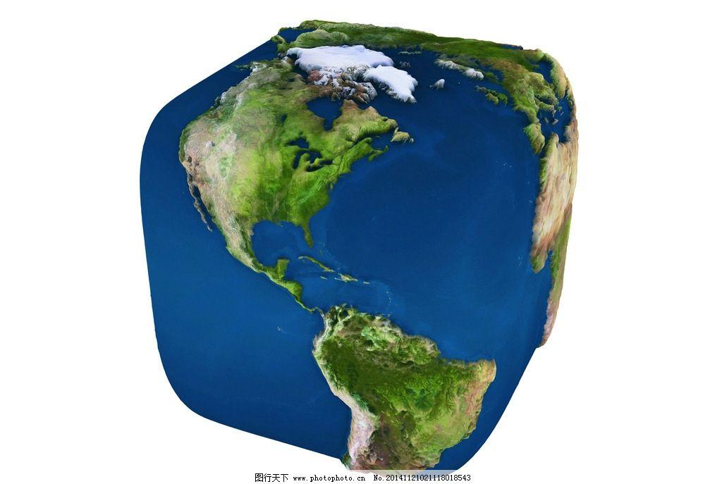 立体 地形图 地球 蓝色 设计 3d设计 3d作品 300dpi jpg