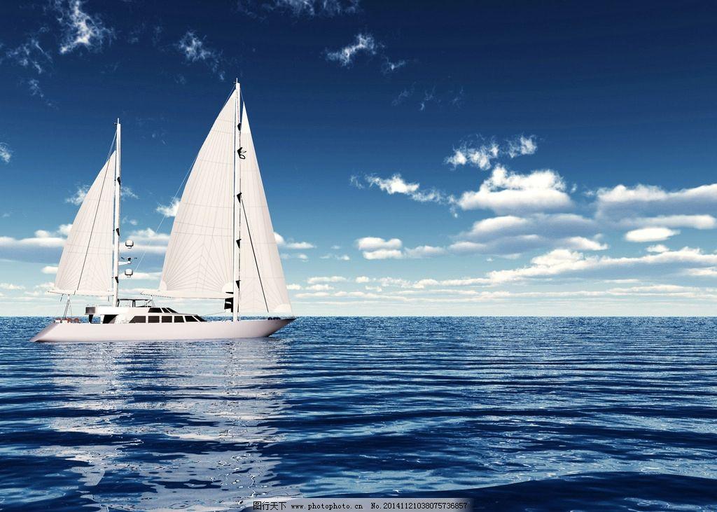 帆船 一帆风顺 领航未来 乘风破浪 商务领航 船舵 领航者 领航舵 领航