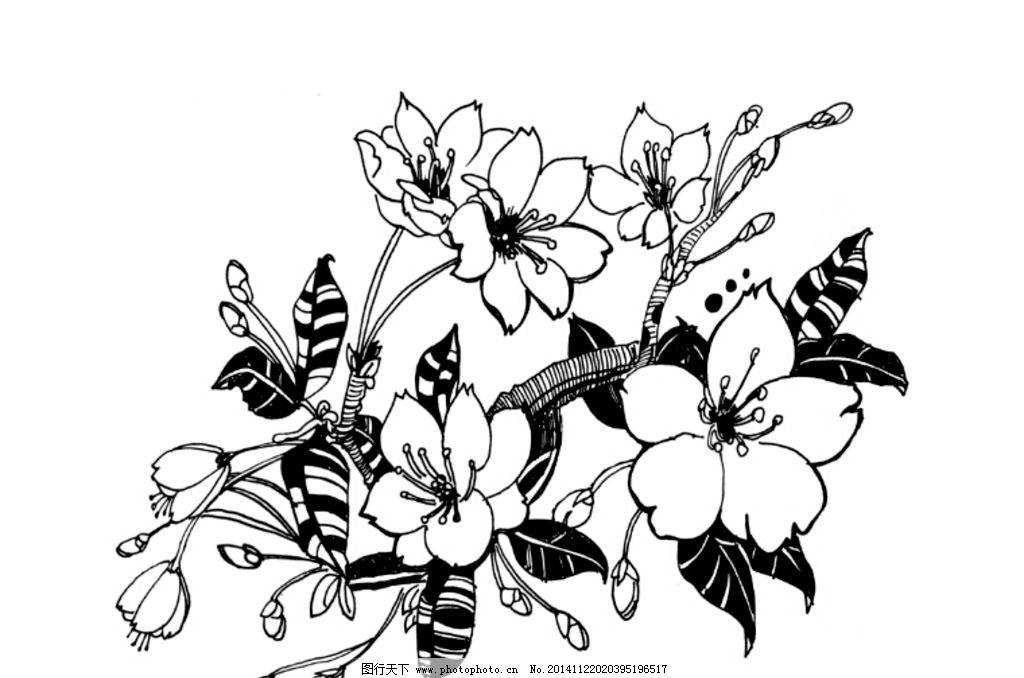手绘 樱花 花纹 图案 底纹 原创  设计 底纹边框 花边花纹 72dpi jpg