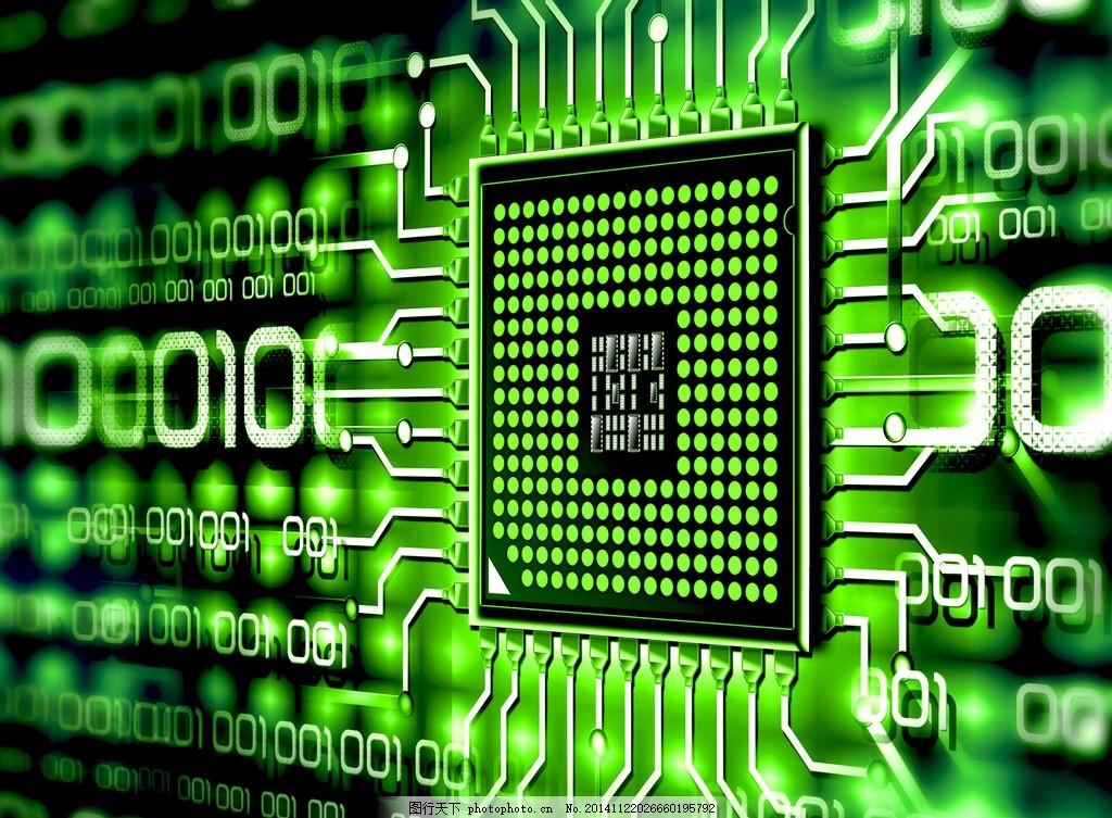 电脑主板 硬件 电路板 电子线路板 工业科技 电子元件 电子元器件