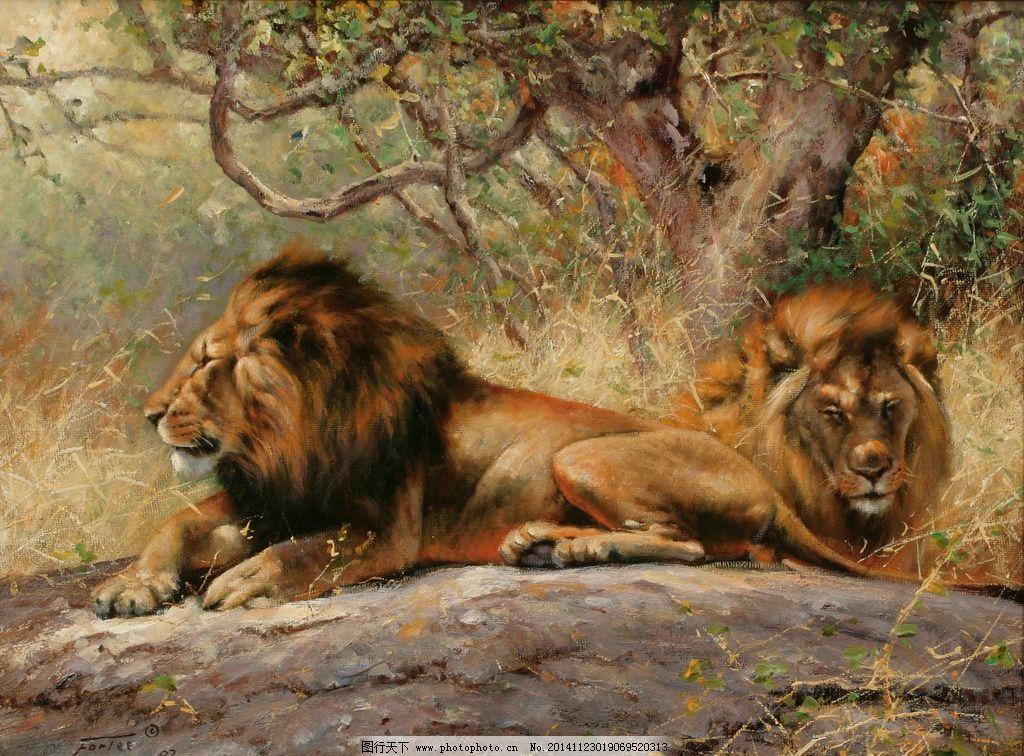 幼儿园美术狮子图片