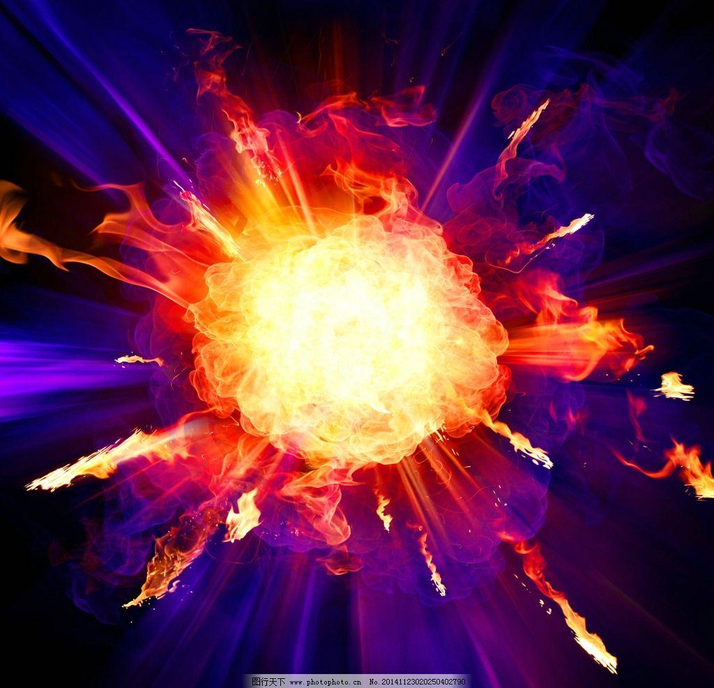 炫酷火焰背景图片