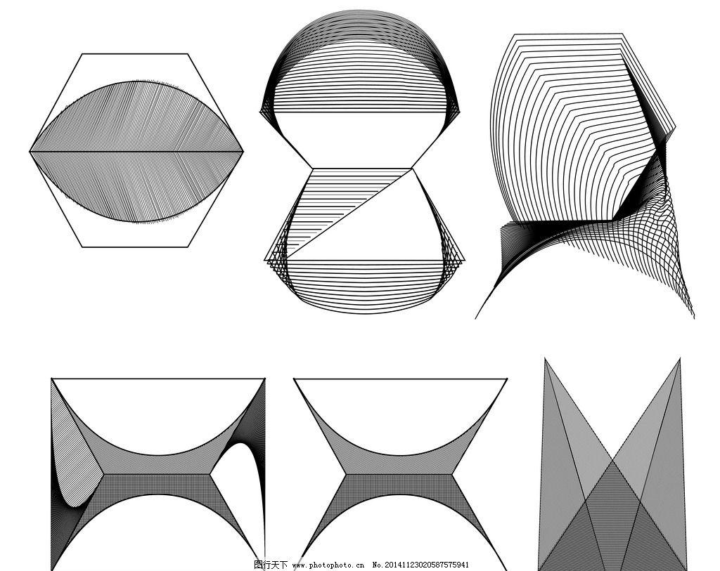 线面设计图片_条纹线条