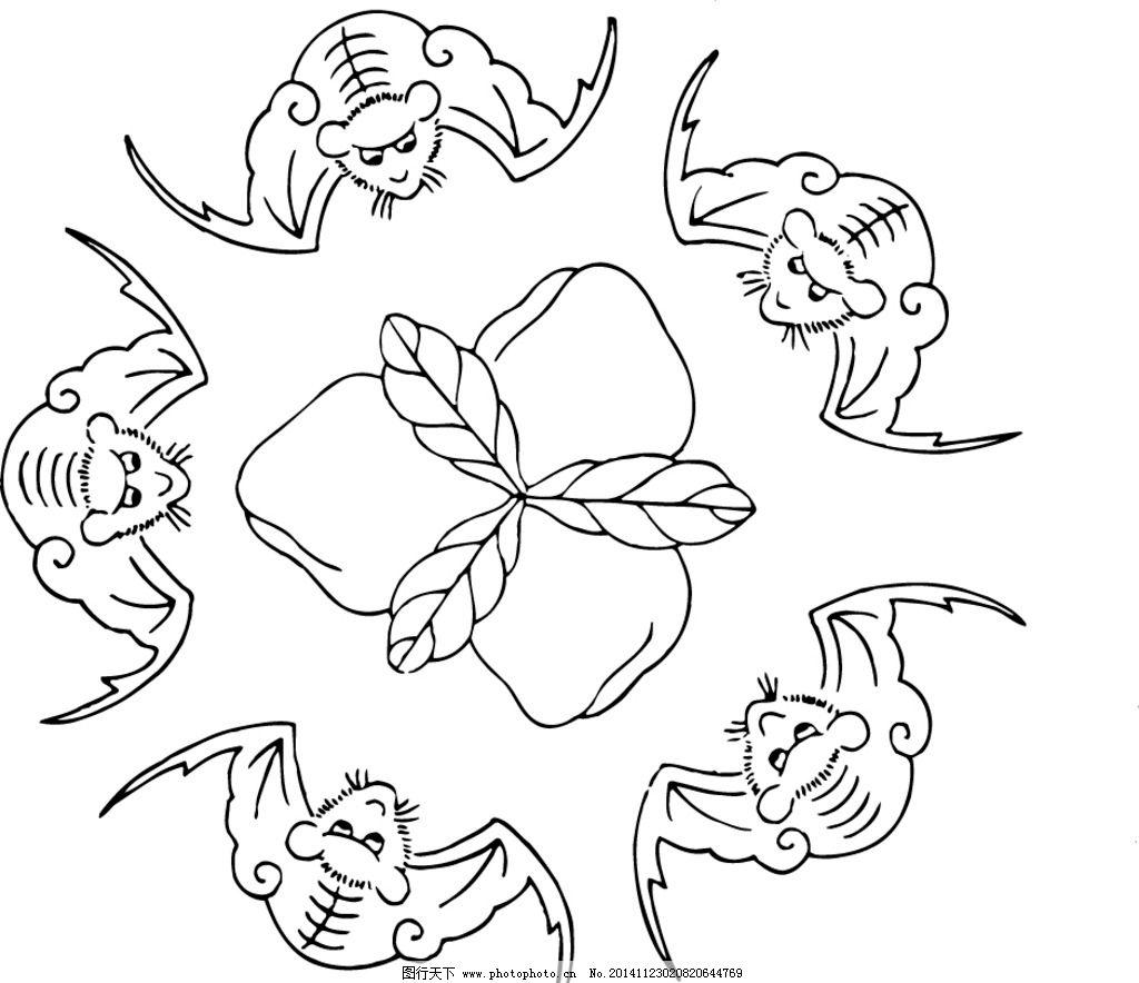 蝙蝠卡通怎么画