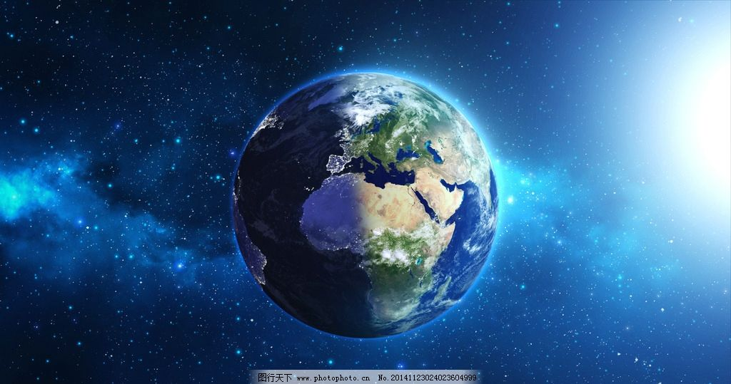 地球科幻背景