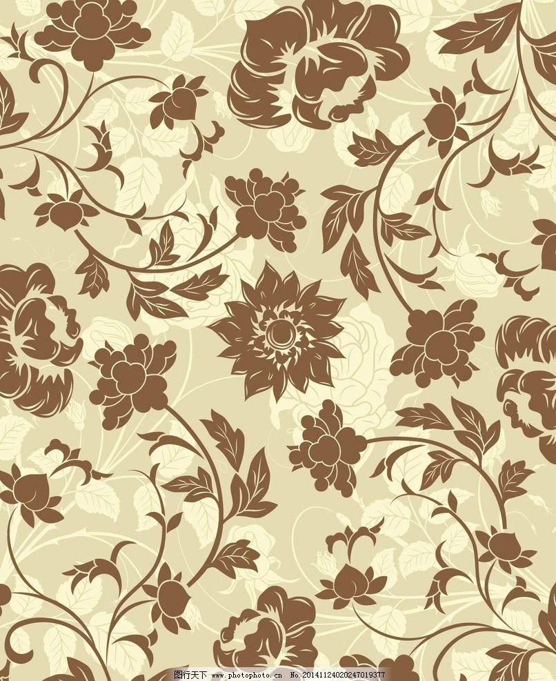 设计图库 底纹边框 背景底纹  欧式花纹 欧式古典背景 古典背景 欧式