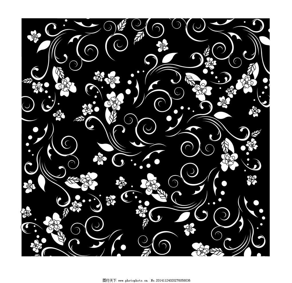 古典欧式花纹背景矢量图片