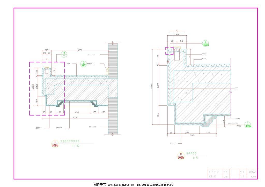 建筑图纸  楼梯剖面cad图纸免费下载 cad 平面图 素材 图纸 装修 楼梯